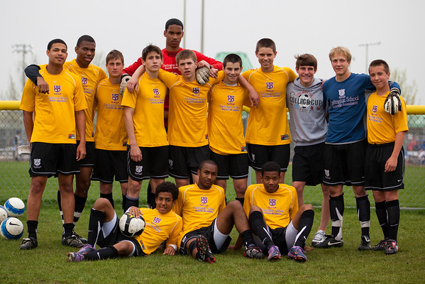 Darlington School Soccer Academy U-17 Team, Chicago Sockers Nike Classic  Tournament, April 2010