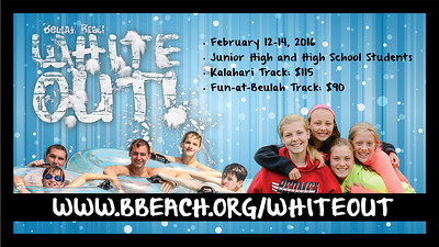 2016 White Out Promo for Youth Workers
