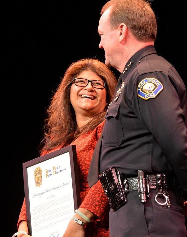 . Long Beach Police Department 46th Annual Awards Ceremony in Long Beach, CA. Thursday June 5, 2014. (Thomas R. Cordova-Daily Breeze/Press-Telegram