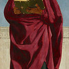 Piero della Francesca (1411/13–1492)<br /> Saint John the Evangelist, 1454–1469<br /> Oil and tempera on poplar panel, thinned and cradled<br /> 52.7 x 24.5 inches<br /> The Frick Collection, New York<br /> <br /> Piero della Francesca (c. 1415 - 1492) <br /> St. John the Evangelist, c. 1454-1469<br /> tempera on poplar panel<br /> 52 3/4 in. x 24 1/2 in. (133.99 cm x 62.23 cm)<br /> Purchased by The Frick Collection, 1936.<br /> Accession number: 1936.1.138<br /> <br /> St John Evangelist cropped