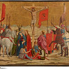 Piero della Francesca (1411/13–1492)<br /> The Crucifixion, 1454–1469<br /> Oil and tempera on poplar panel, thinned and cradled<br /> 14.7 x 16.2 cm<br /> The Frick Collection, New York<br /> <br /> Piero della Francesca (1410/1420 - 1492) <br /> The Crucifixion, date unknown<br /> tempera on panel, cradled (irregular)<br /> 14 3/4 in. x 16 3/16 in. (37.47 cm x 41.12 cm)<br /> Bequest of John D.Rockfeller, Jr. 1961.<br /> Accession number: 1961.1.168