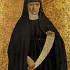Piero della Francesca (1411/13–1492)<br /> Augustinian Nun (Saint Monica), 1454–1469<br /> Oil and tempera on poplar panel<br /> 15.2 x 11 inches<br /> The Frick Collection, New York<br /> <br /> Piero della Francesca (c. 1415 - 1492) <br /> Augustinian Nun, 15th century<br /> tempera on poplar panel<br /> 15 1/4 in. x 11 in. (38.74 cm x 27.94 cm)<br /> Purchased by The Frick Collection, 1950.<br /> Accession number: 1950.1.158