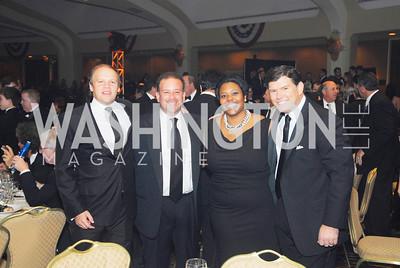 Mark  Ein, Raoul Fernandez,Kai Henderson, Brett  Baier,November 10,2011,Fight Night 2011,Kyle Samperton