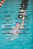 FHS's Miranda Benjamin swims the backstroke section of the girls 200 yard medley relay race. teammates include Lindsey Roynon, Kendra Wadding, and Amelia Koch.