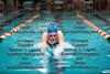 FHS's Lindsey Roynon swims the breaststroke section of the girls 200 yard medley relay race. teammates include Miranda Benjamin, Kendra Wadding, and Amelia Koch.