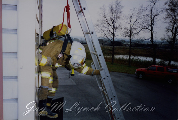 West Sparta FD - West Sparta and Groveland OSHA Training - Livingston County Fire Training Center - 2002
