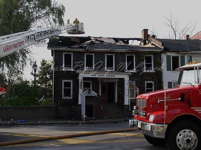 "LeRoy FD - Structure Fire - 1 Main St ""Creekside Inn"" - October 29, 2004"