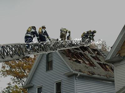 Rochester FD - Fire Acadamy Class - Agnew Ct - October 27, 2004