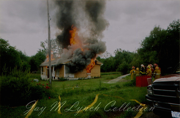 West Sparta FD - Controlled Burn - Corner of Green and Redmons Rd - June 6, 2004