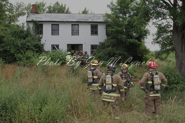 Bergen FD - House Fire - 7463 Townline Rd - July 18, 2011