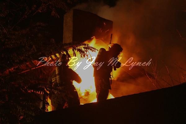 Caledonia FD - House Fire - 2896 McCorkindale Rd - November 1, 2011