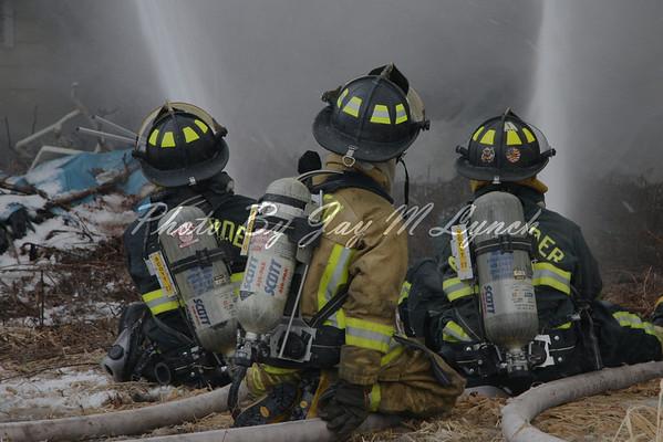 Darien FD - House Fire - 1081 Broadway Rd - January 4, 2011