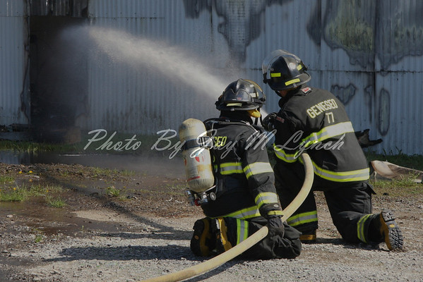 East Avon FD - Structure Fire - 2979 Lakeville Rd - May 9, 2011