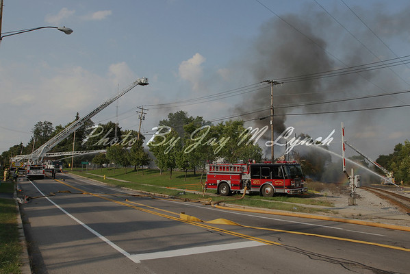 "Mumford FD - Structure Fire ""Burnwell Gas Company"" - 1104 Main St - September 13, 2011"