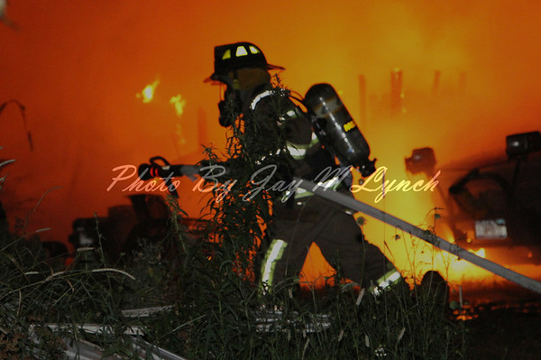Pavilion FD - Trailer Fire - 7450 Boyed Rd - July 17, 2011