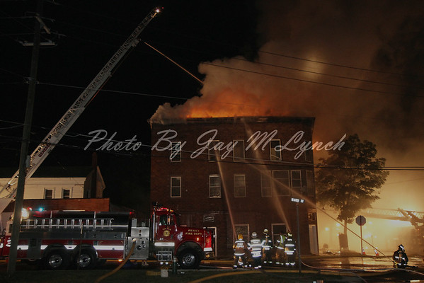 Perry Perry Center FD - Structure Fire - 42 Elm St - July 3, 2011