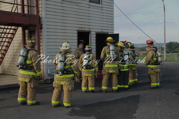 Dansville FD - Bailout Training - Livingston County Fire Training Center - October 2, 2016
