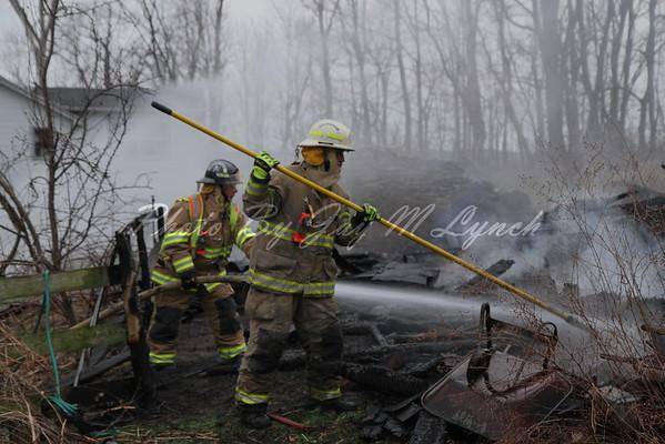 Conesus FD - Barn Fire - 5833 Turkey Hill Rd - April 21, 2016