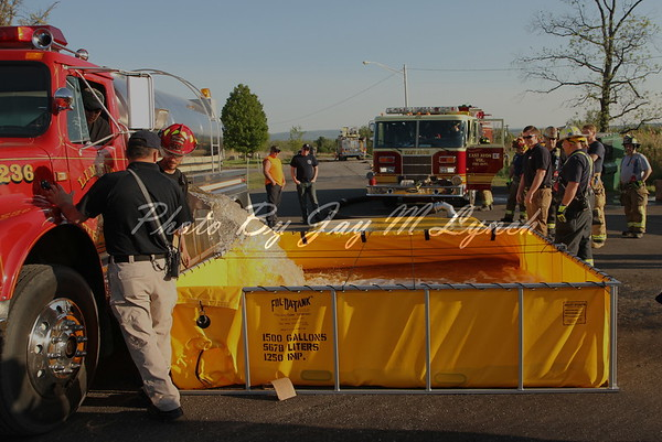 East Avon FD - Water Supply Drill - Livingston County Fire Training Center - May 23, 2015