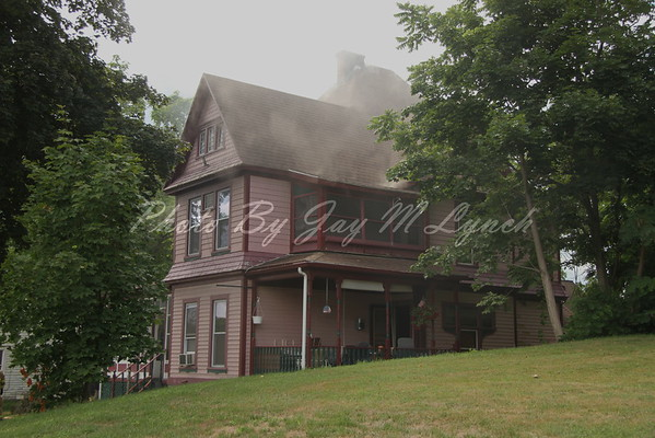 Perry, Perry Center FD's - House Fire - 49 North Main St - August 16, 2016