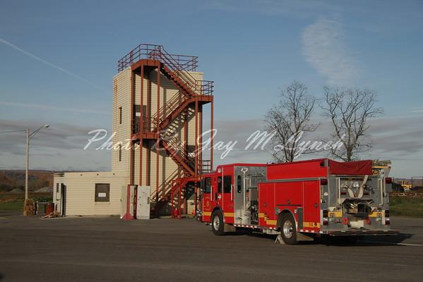 Livingston County Fire Training Center - Multi Department Drill - November 6, 2016