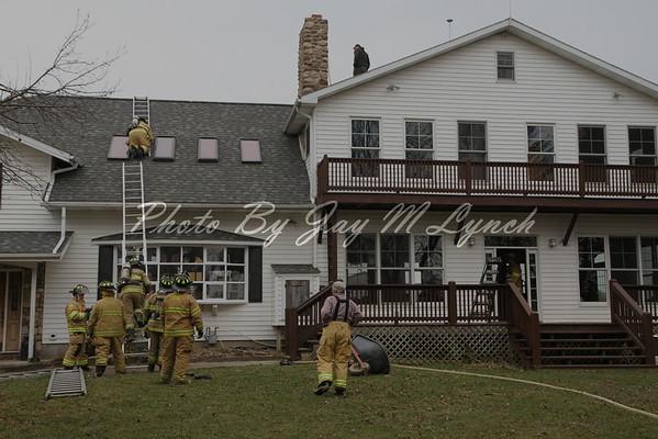 York FD - Chimney Fire - 2303 Cowan Rd - March 22, 2016
