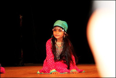First Bollywood Dance Performance