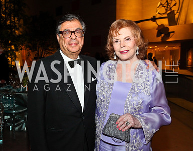 Bob Colacello, Buffy Cafritz. Photo by Tony Powell. FAPE Dinner. East Wing Art Gallery. May 19, 2011