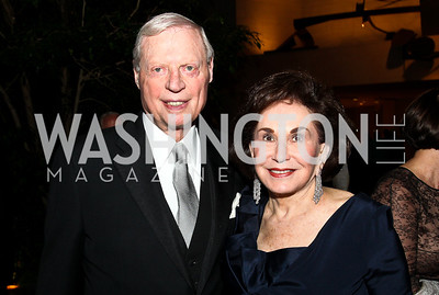 Amb. Joseph and Alma Gildenhorn. Photo by Tony Powell. FAPE Dinner. East Wing Art Gallery. May 19, 2011