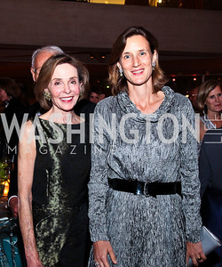 Eden Rafshoon, Olga Votis. Photo by Tony Powell. FAPE Dinner. East Wing Art Gallery. May 19, 2011