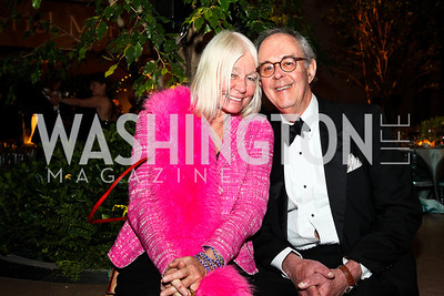 Helen Marden, Steve Mazoh. Photo by Tony Powell. FAPE Dinner. East Wing Art Gallery. May 19, 2011
