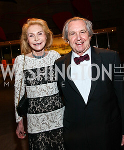 Jacqueline and Marc Leland. Photo by Tony Powell. FAPE Dinner. East Wing Art Gallery. May 19, 2011