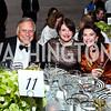 Melvyn Estrin, Marlene Malek, Suellen Estrin. Photo by Tony Powell. FAPE Dinner. East Wing Art Gallery. May 19, 2011