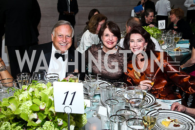 Melvyn Estrin, Marlene Malek, Suellen Estrin. Photo by Tony Powell. FAPE Dinner. East Wing Art Gallery. May 19, 2011