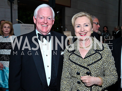 Rusty Powell, Sec. Hillary Rodham Clinton. Photo by Tony Powell. FAPE Dinner. East Wing Art Gallery. May 19, 2011