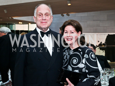 Ronald and Jo Carole Lauder. Photo by Tony Powell. FAPE Dinner. East Wing Art Gallery. May 19, 2011