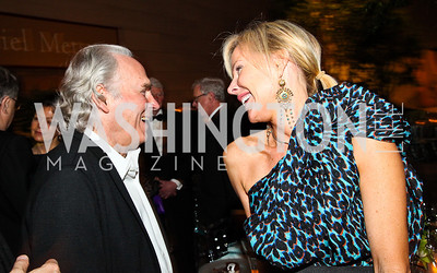 Brice Marden, Carol Mack. Photo by Tony Powell. FAPE Dinner. East Wing Art Gallery. May 19, 2011