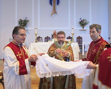 Fr. Aren Jebejian Visits the Armenian of Southwest Florida, March 1, 2015