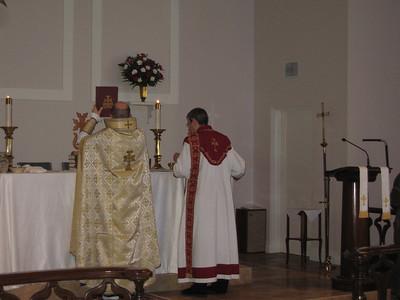 Fr. Daniel Findikyan Visits Naples, FL,  February 3, 2013