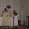 Fr. Daniel Findikyan celebrates the Divine Liturgy.