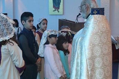Fr. Tateos Abdalian Visits Jacksonville Mission Parish, February 4-5, 2017