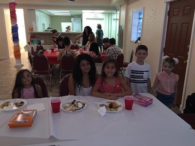Fr. Tateos Abdalian visits Jacksonville, FL, June 7, 2015