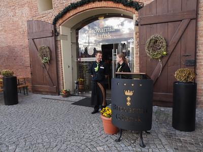 Indgang til Hotel Gdansk.