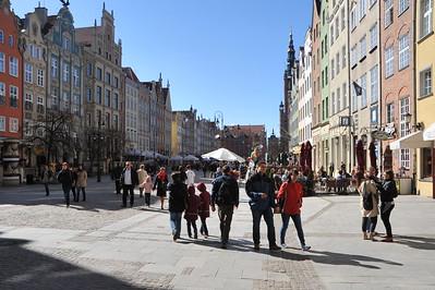 Gdansk hovedgaden 'Dlugi Targh'.