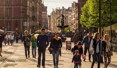Hovedgaden i Gdansk.