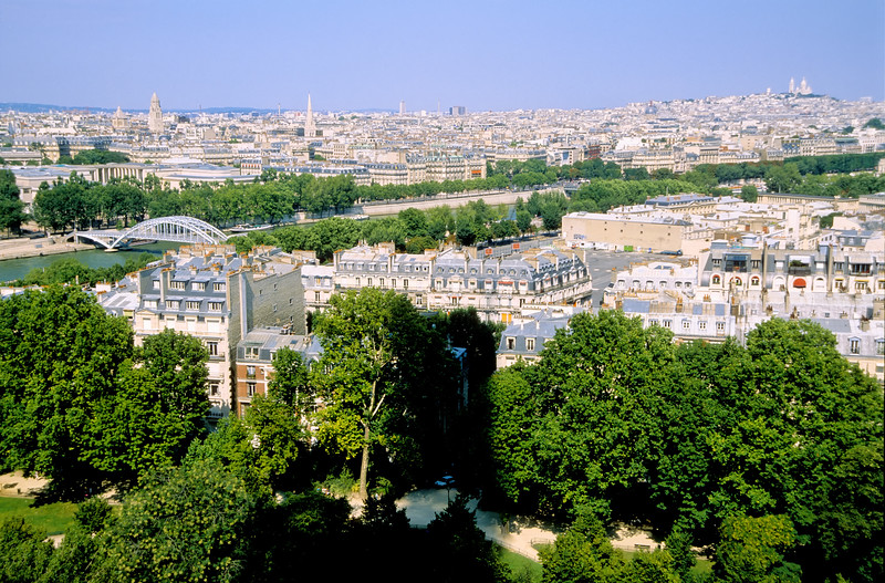 Urban panorama - Paris, France