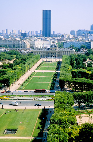 The Ecole Militaire - Paris, France