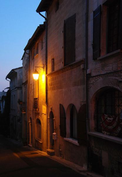 Street scene in Villeneuve Des Avignon