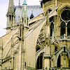 Flying buttresses - Notre Dame - Paris, France