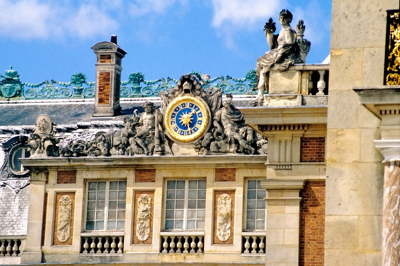 Versailles roof detail - Paris, France